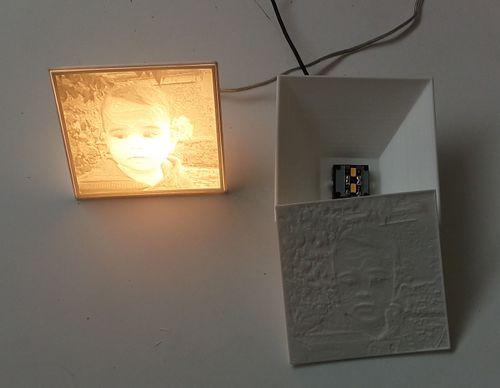 En Photo Lithophanie 3d— Une Lampe Imprimée Funlab Documentation f7gy6vbY